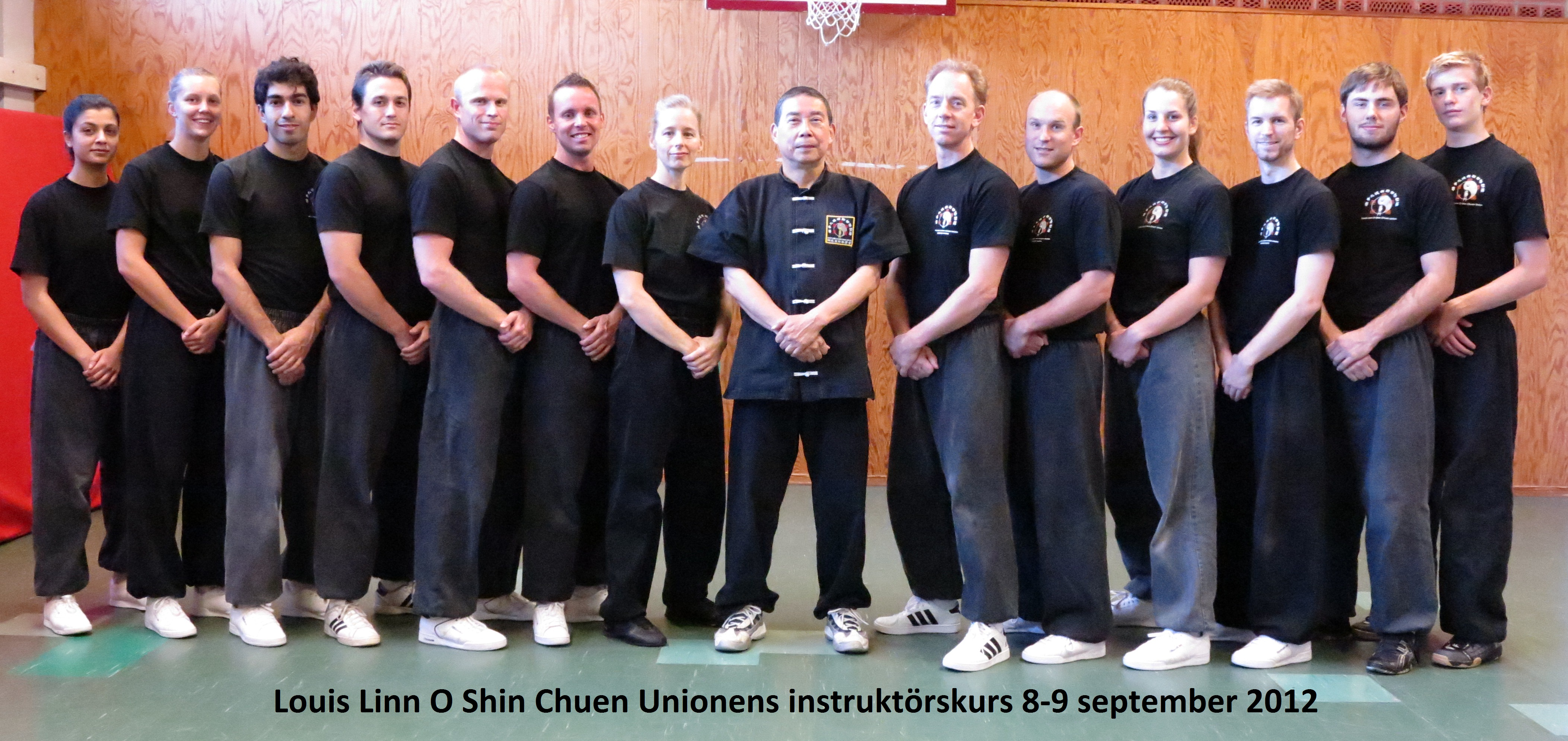 The instructor group of Louis Linn O Shin Chuen Union autumn 2012